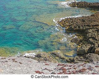Sea view in Argentiera