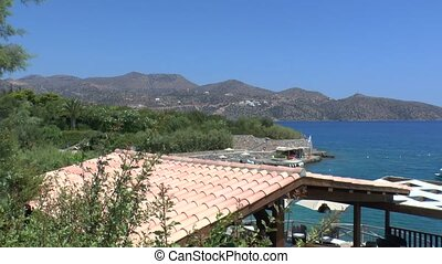 Sea view of Mirabello Bay Crete