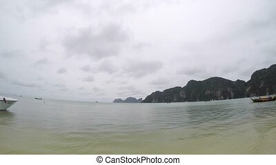 Sea view on Koh Phi-Phi in Thailand