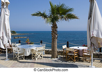 sea view - a place for dinner with a view on the sea in...