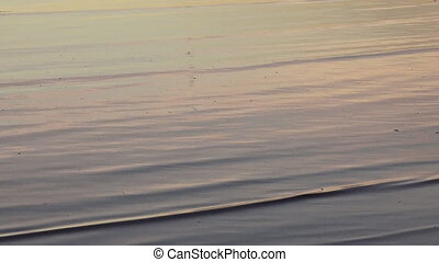 Sea water ripples background - Sea water ripples at sunrise...