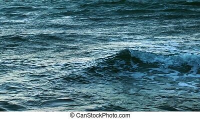 Sea Water Waves Surface
