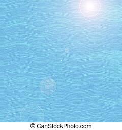 Sea wave background.