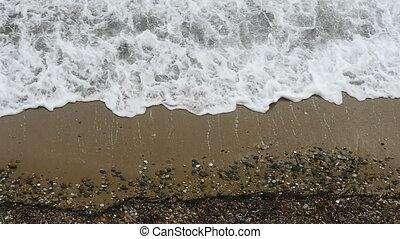 sea wave slow motion