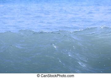 Sea wave splash