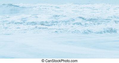 Sea waves background.