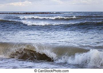 sea., wellen