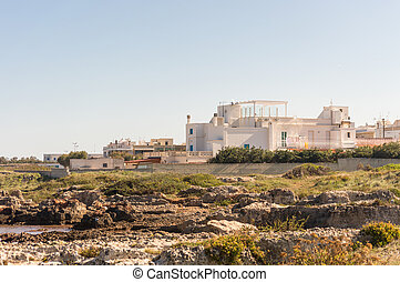 Salento is famous for its white villages and its seacoast with many wonderful beaches