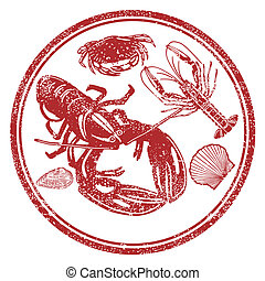 Seafood characters