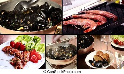 seafood recipes montage