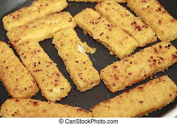 seafood - fish sticks