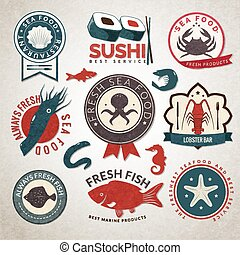 Seafood labels set
