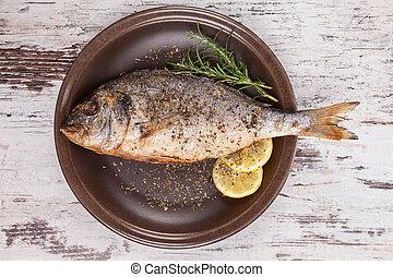 seafood., luxuös