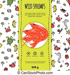 Seafood Packaging Design