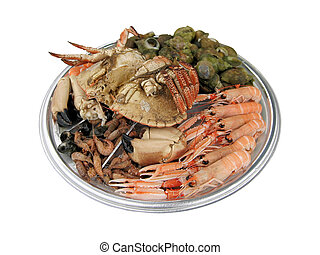 Seafood - Dish with delicious seafood