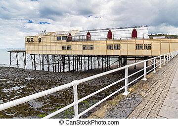 Aberystwyth Wales UK - Seafront at Aberystwyth Wales UK ...