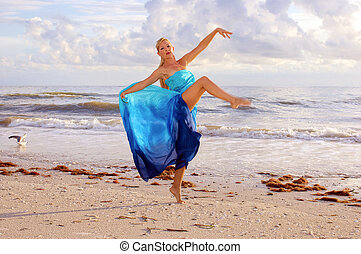 seagull and dancer