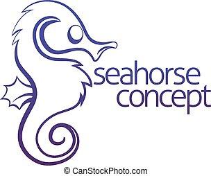 Seahorse concept