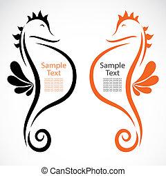 seahorse, diseño