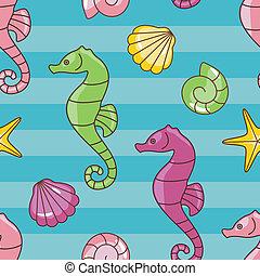 seahorses, padrão