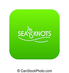 Seaknot icon green