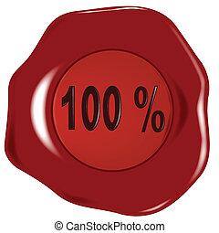Seal 100 Percent.