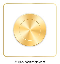 Seal award gold icon