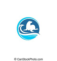Seal logo template for your company