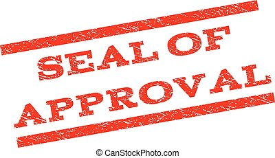 Seal Of Approval Watermark Stamp