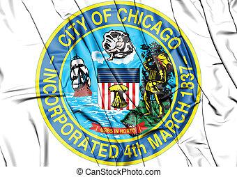 Seal of Chicago (Illinois), USA.