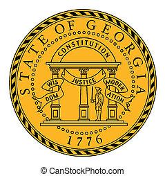Seal of Georgia