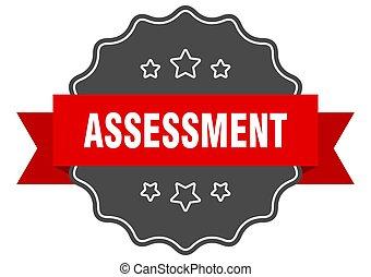 seal., sinal, avaliação, isolado, label., sticker.