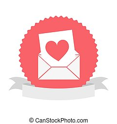 seal stamp with heart icon