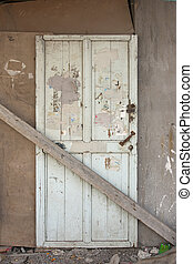Sealed wooden door