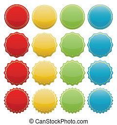 seals-01, coloré