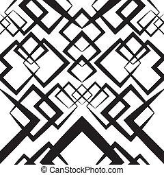 Seamlees Monochrome Wallpaper