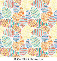 Seamles vector easter pattern