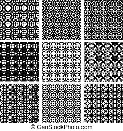 seamless, γεωμετρικός ακολουθώ κάποιο πρότυπο , set.