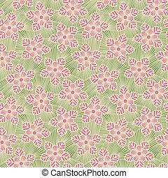 seamless, λουλούδι , pattern.