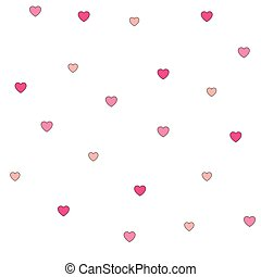 seamless, πόλκα dot , ροζ , αγάπη , πρότυπο