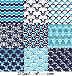 seamless, גל של אוקינוס, תבנית
