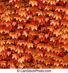 seamless, かえで, leafs, バックグラウンド。