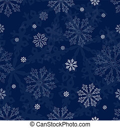 seamless, バックグラウンド。, 雪片, クリスマス