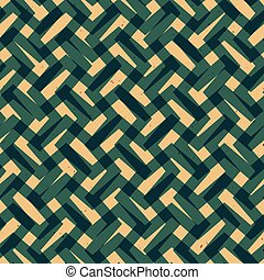 seamless., パターン, ベクトル, グランジ