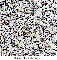 seamless, パターン, 大理石, mosaic.