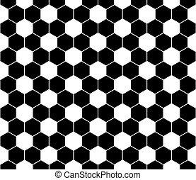 seamless, フットボール, pattern., eps, 8