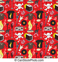 seamless, ロックミュージック, パターン