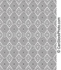 seamless, 光学, 芸術, パターン, ベクトル, 背景