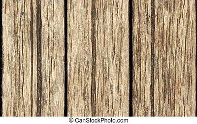 seamless, 古い, 木製のボード, 壁, 手ざわり, 背景