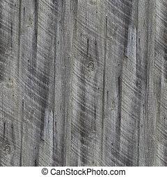 seamless, 古い, 灰色, フェンス, 緑, 板, 木手ざわり, 壁紙